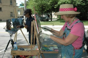 Plein Air Painting Competion