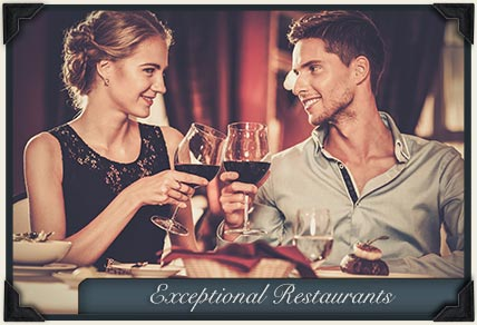 Exceptional restaurants