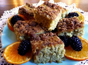 Oatmeal Coffee Cake from the Washington House Inn