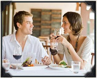 Many charming restaurants in Cedarburg