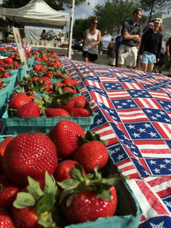 strawberry festival in cedarburg wi