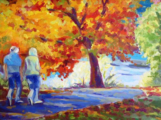 """""""Eternal Love"""" by local favorite Michelle Savage Thompson"""