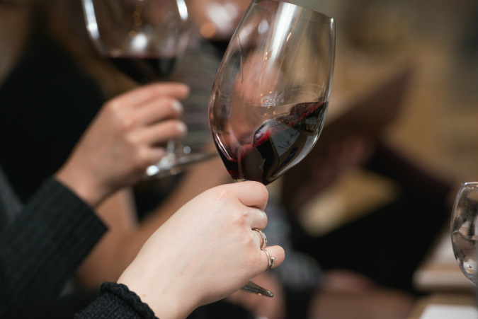 Wine tasting at Cedar Creek Winery, the perfect end to your Cedarburg Art Tour!