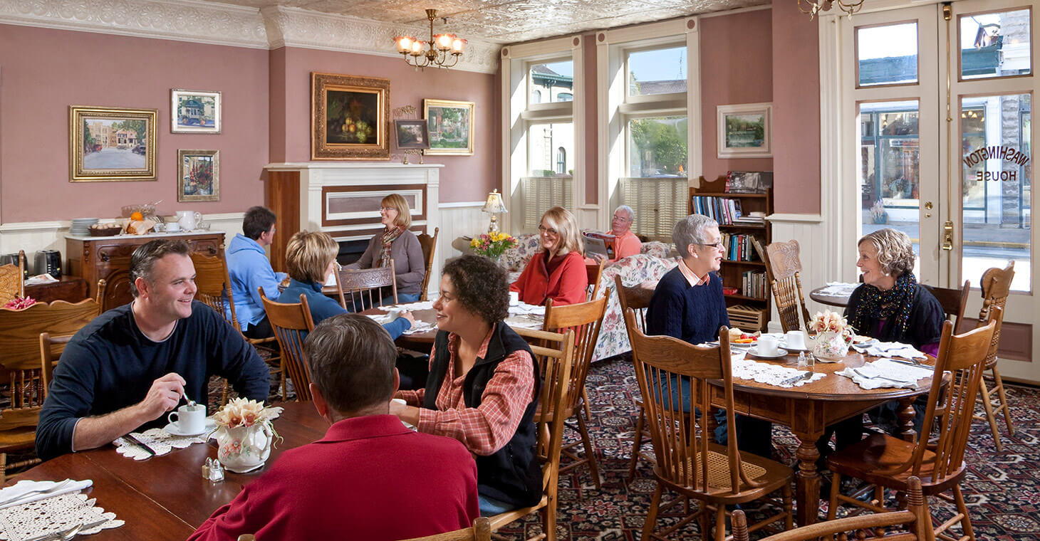 Brunch at Washington House Inn