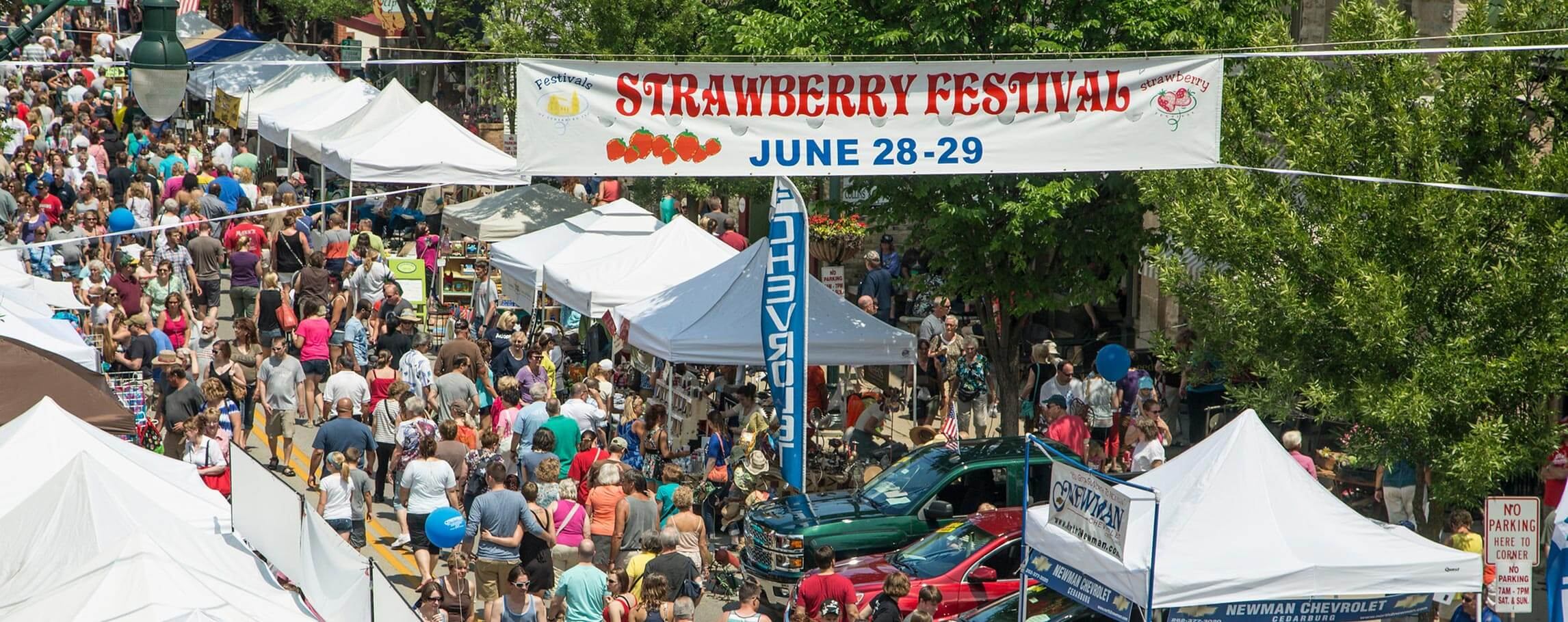 Strawberry Festival in Cedarburg - June 28-29