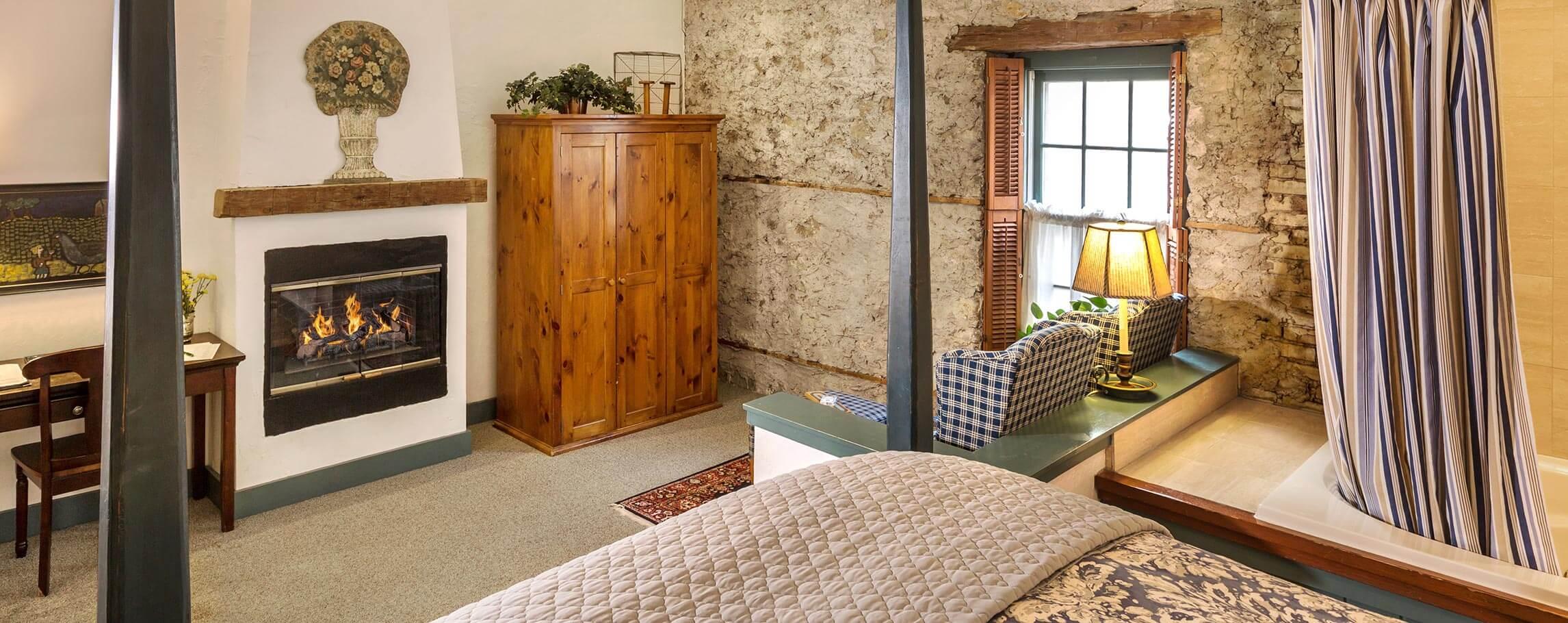 Hattie Wiesler room - at a Cedarburg Inn