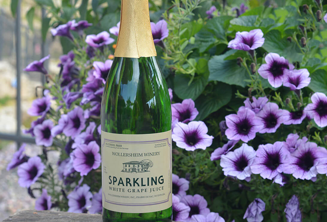 sparkling grape juice