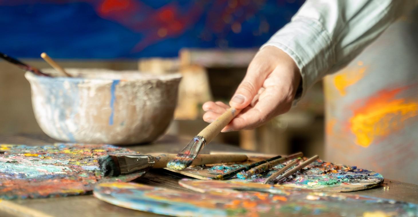 Cedarburg artist painting