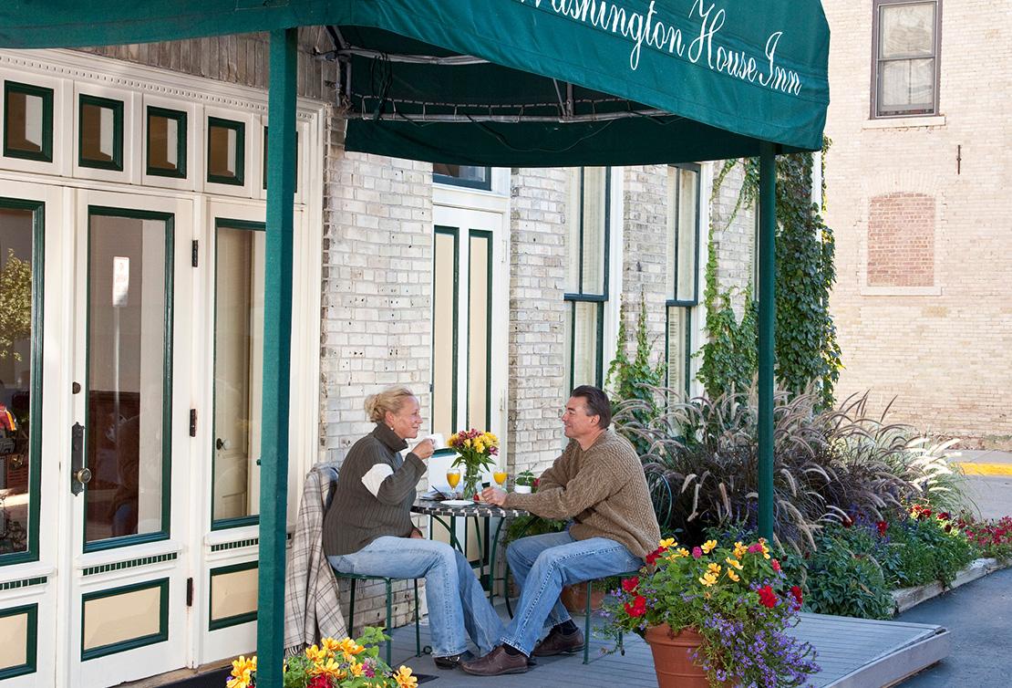 Washington House Inn Front Door