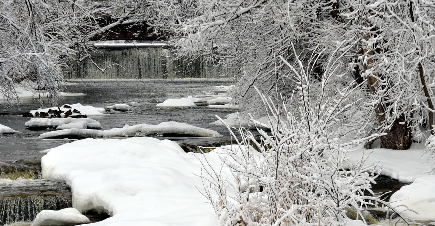 Snowy Creek Wisconsin
