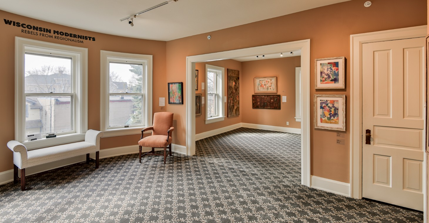 Cedarburg Art Museum Interior shot by Gary Heller, Historic Rescue Photography