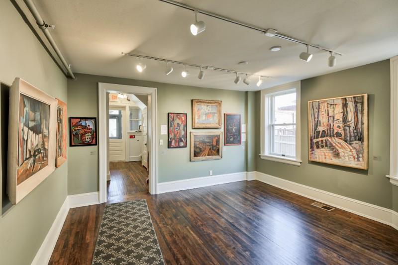 Cedarburg Art Museum Interior